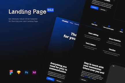 Landing Page vol.1 - Template