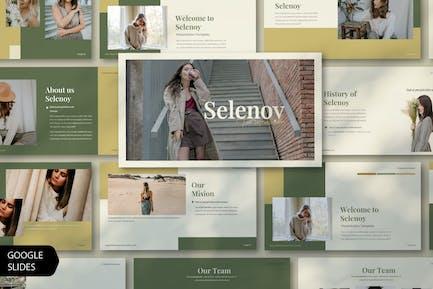 selenoy Creative Google Sildes template