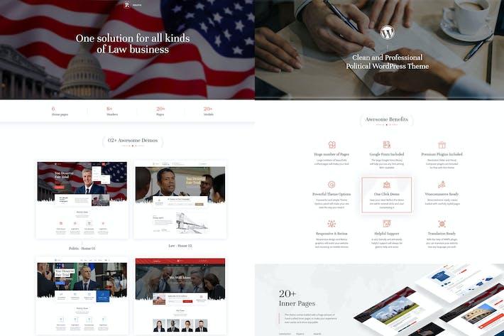 Politix - Politische Kampagne WordPress Thema