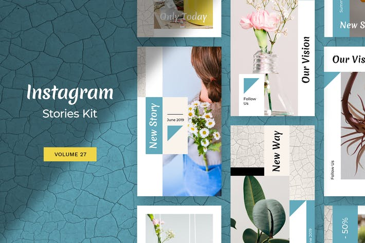 Thumbnail for Instagram Stories Kit (Vol.27)