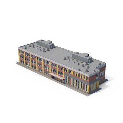Edificio Escolar Contemporáneo