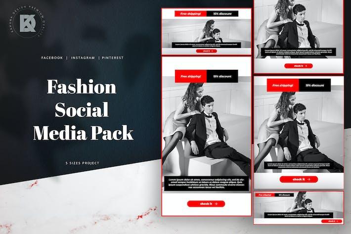 Thumbnail for Fashion Social Media Pack