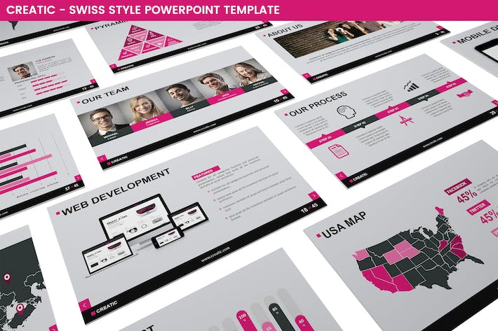 Cover Image For Creatic Powerpoint Template