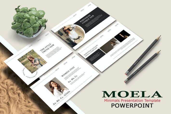 Thumbnail for MOELA - Fashion Powerpoint Template