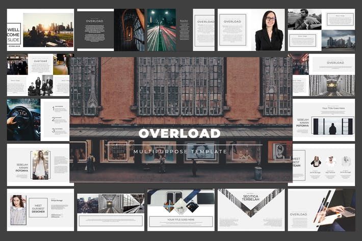Thumbnail for Overload Keynote Template