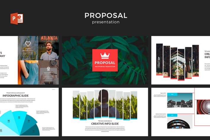 Thumbnail for Proposal PowerPoint Template