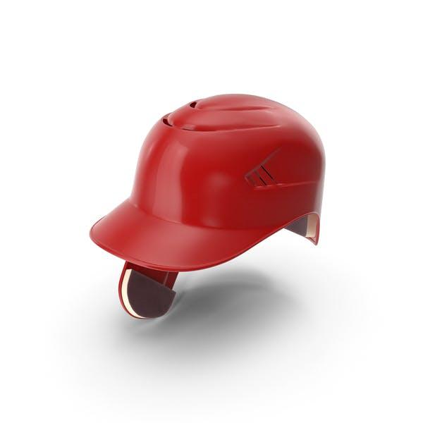 Baseball Helmet C Flap Red