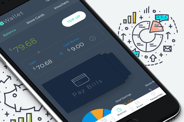 Thumbnail for B Wallet Dashboard 10 Mobile Ui