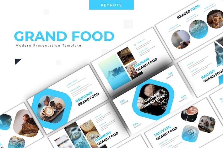 Grand Food - Keynote Template
