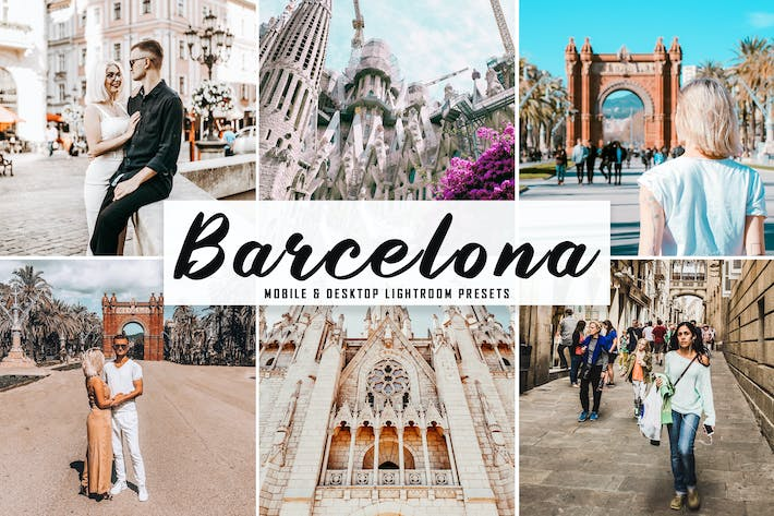 Thumbnail for Barcelona Mobile & Desktop Lightroom Presets