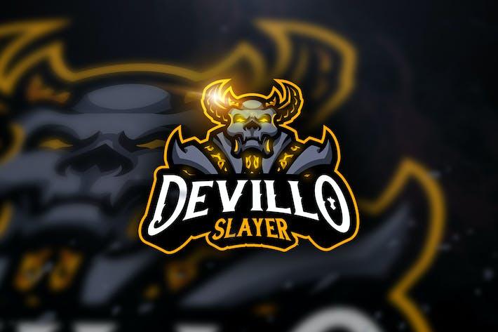 Cover Image For Devillo Slayer - Mascot & Esport Logo
