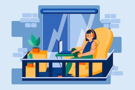 Online Learning Illustration