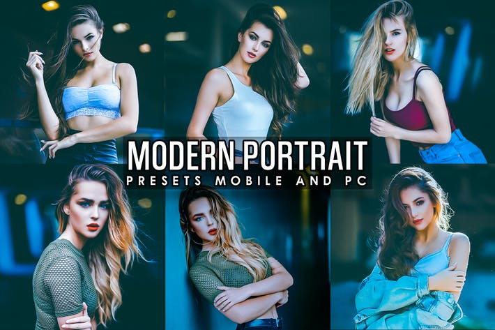 Thumbnail for Modern Portrait V2 Presets Mobile and PC