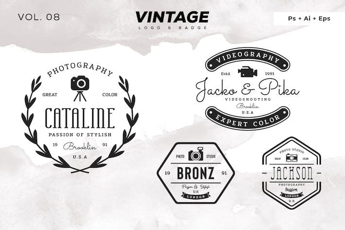 Thumbnail for Vintage Logo & Badge Vol. 8