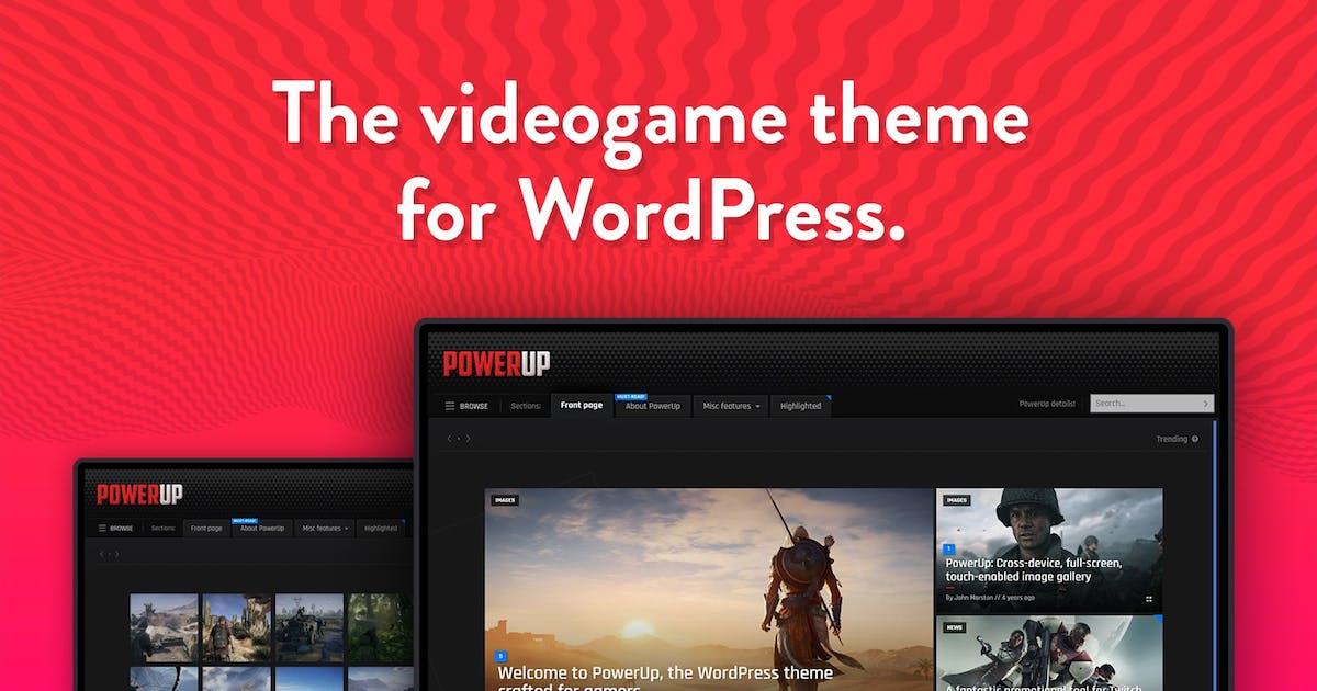 Download PowerUp - Video Game Theme for WordPress by BonfireThemes