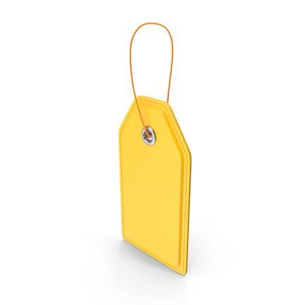 Price Tag Yellow
