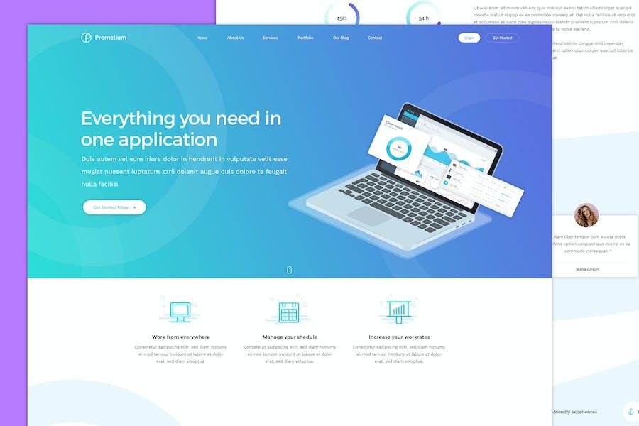 Prometium - Multi-Purpose HTML5 Template
