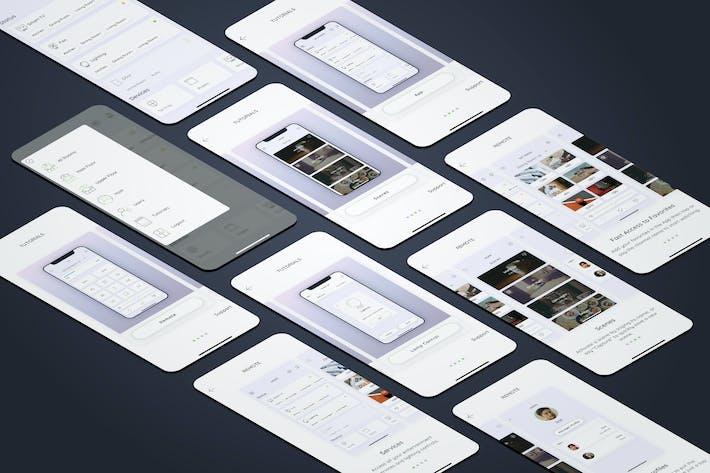 Thumbnail for Tutorials Smarthome Mobile UI - FP