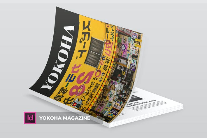 Cover Image For Yokoha | Magazine Template