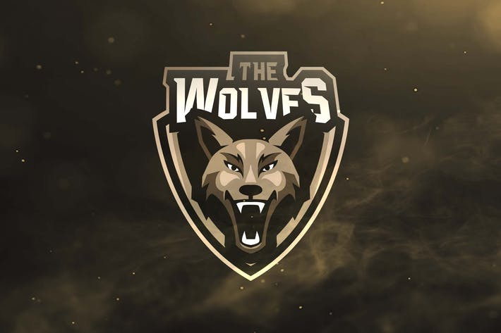 Thumbnail for The Wolves Sport and Esports Logos