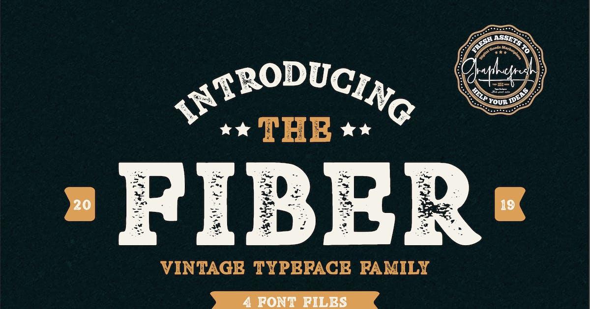 Download Fiber - Vintage Serif Font by sameehmedia