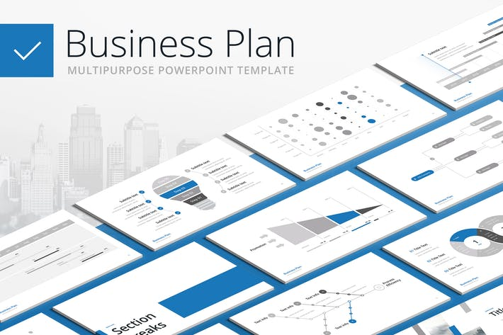 Thumbnail for Business Plan - Multipurpose PowerPoint Template