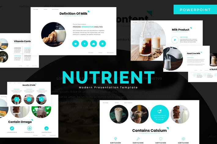 Thumbnail for Nutrient - Powerpoint Template
