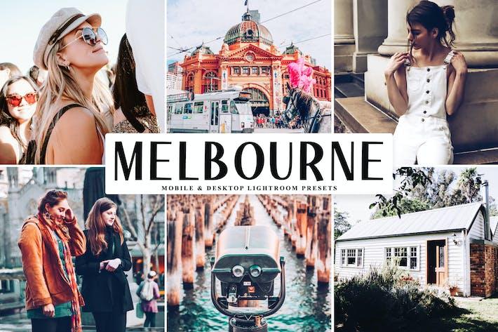 Thumbnail for Melbourne Mobile & Desktop Lightroom Presets