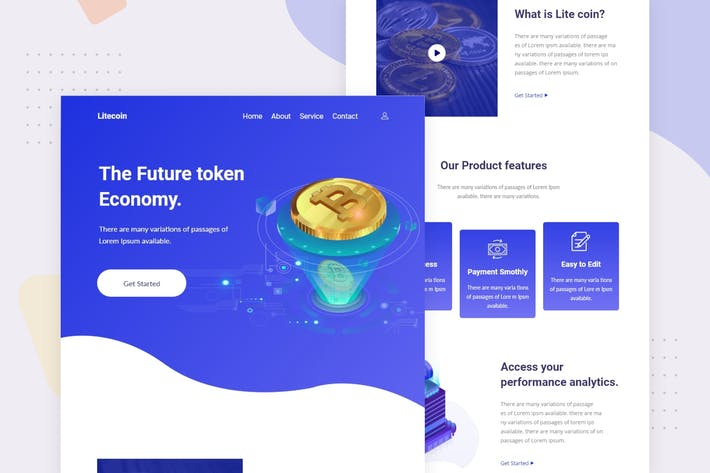 Thumbnail for Litcoin - Email Newsletter