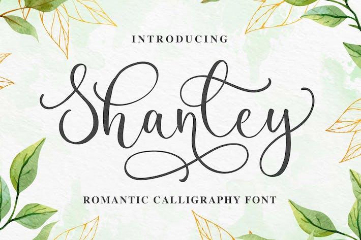 Shanley - Police de Calligraphie Romantique