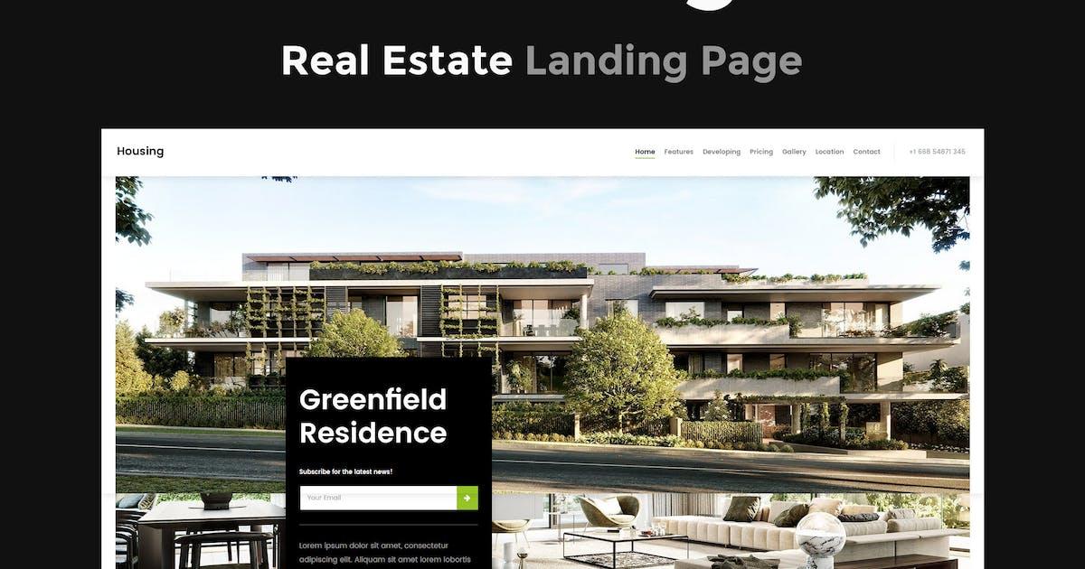 Download Housing - Real Estate Landing Page by ThemeStarz