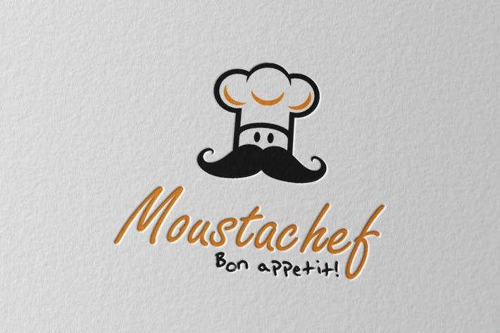 Cover Image For Moustachef Logo