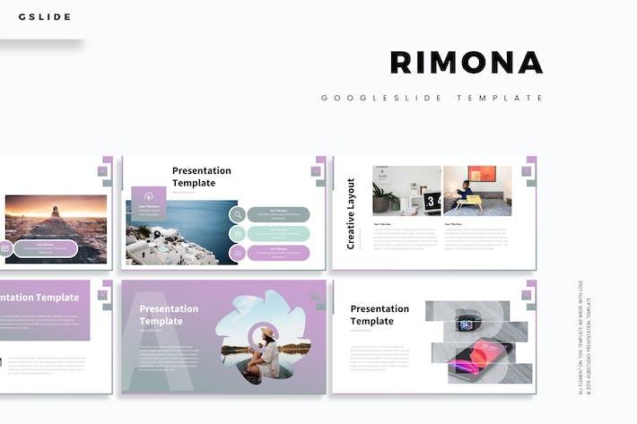 Cover Image For Rimona - Google Slide Template