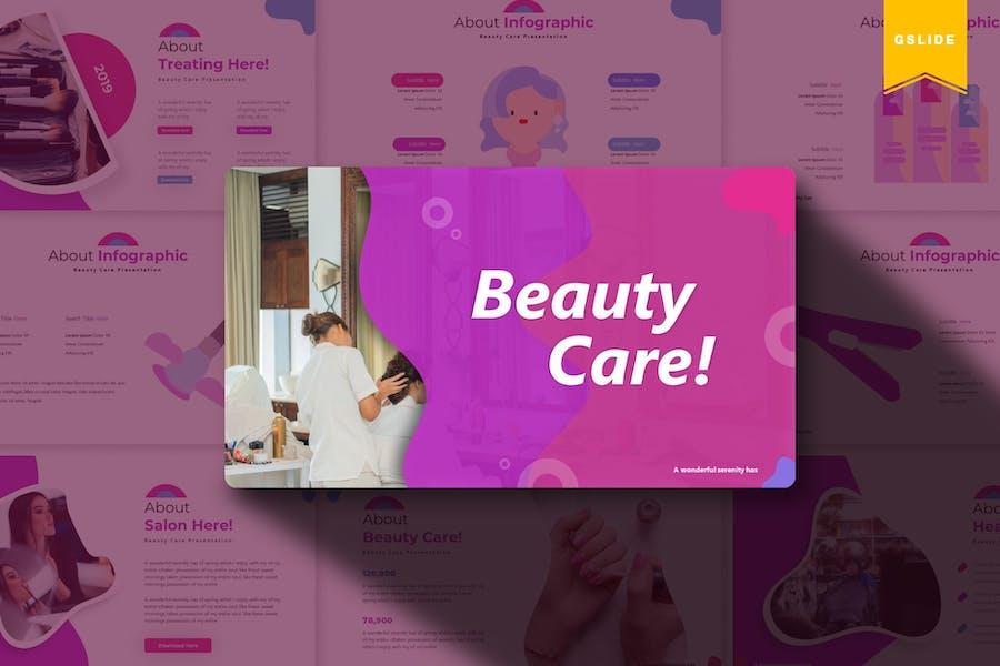Beauty Care   Google Slides Template