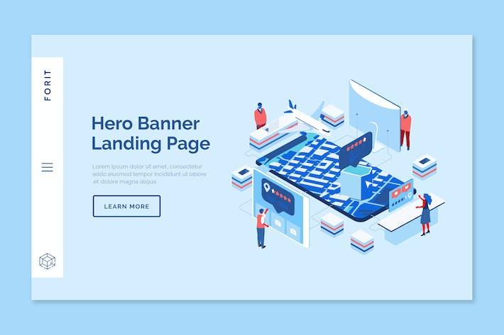 Thumbnail for Forit - Hero Banner Template