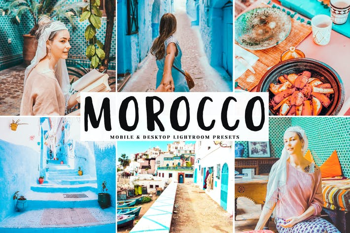 Thumbnail for Morocco Mobile & Desktop Lightroom Presets