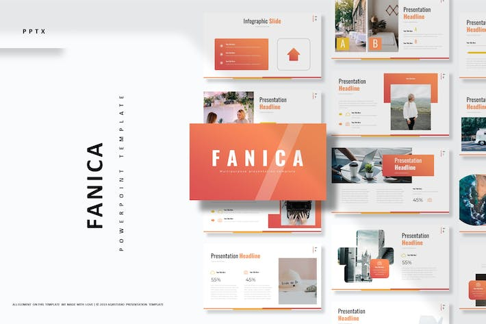 Cover Image For Fanica - Powerpoint Template