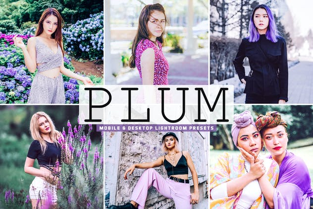 Plum Mobile & Desktop Lightroom Presets
