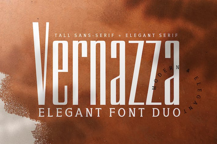 Thumbnail for Vernazza Luxury Font Duo