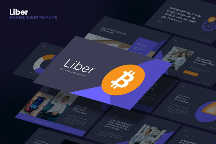 Thumbnail for Liber - Bitcoin Business Google Slides