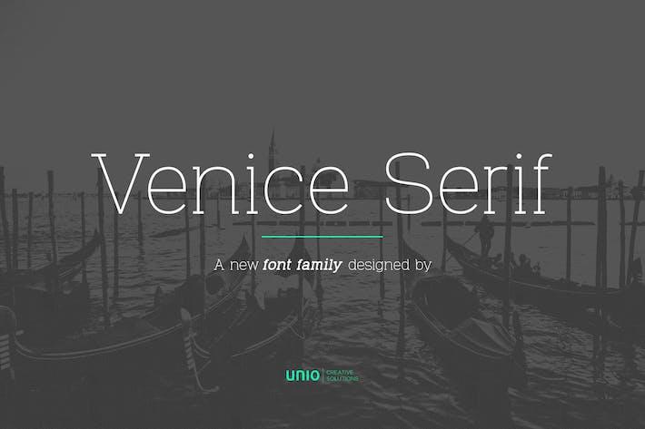 Thumbnail for Venice Serif - Font Family