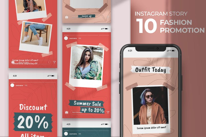 Instagram Story - Fashion Promotion