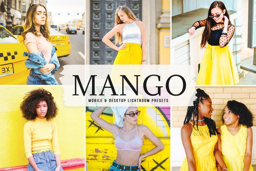 Mango Mobile & Desktop Lightroom Presets