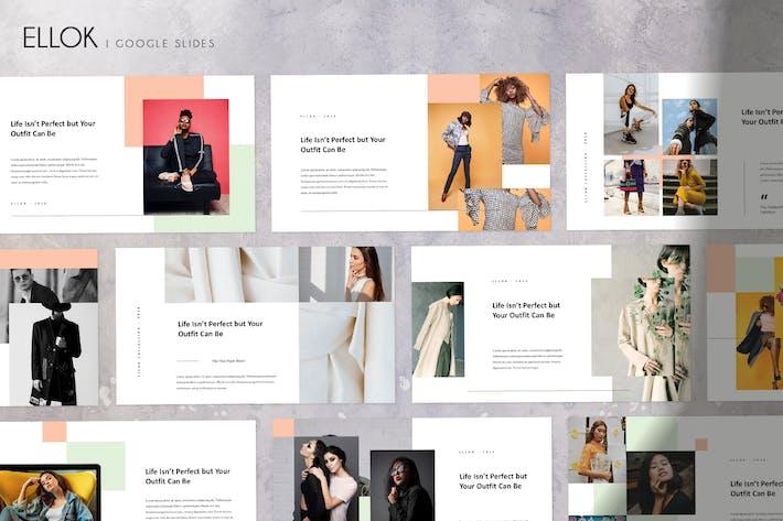 Cover Image For ELLOK - Modern & Minimal Google Slides Template