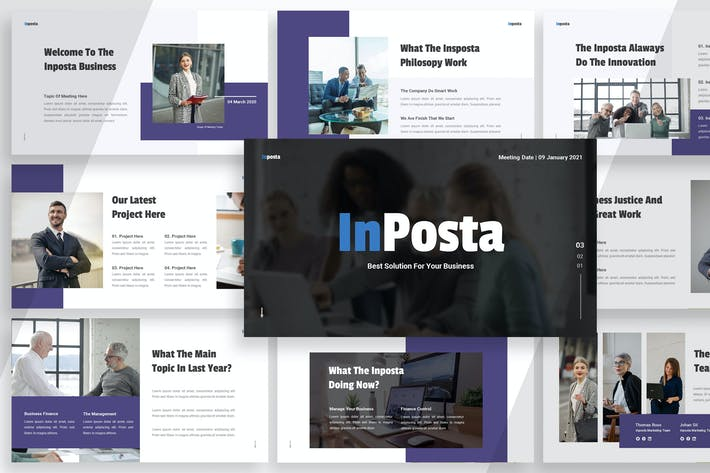 Thumbnail for Инпоста Бизнес - Google Слайды