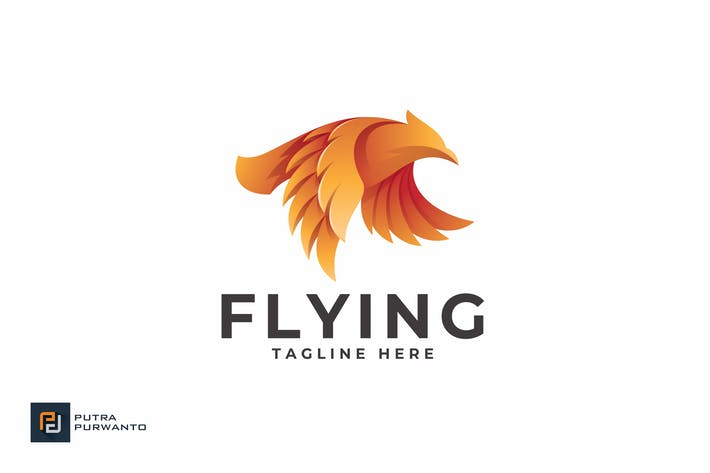 Thumbnail for Flying - Logo Template