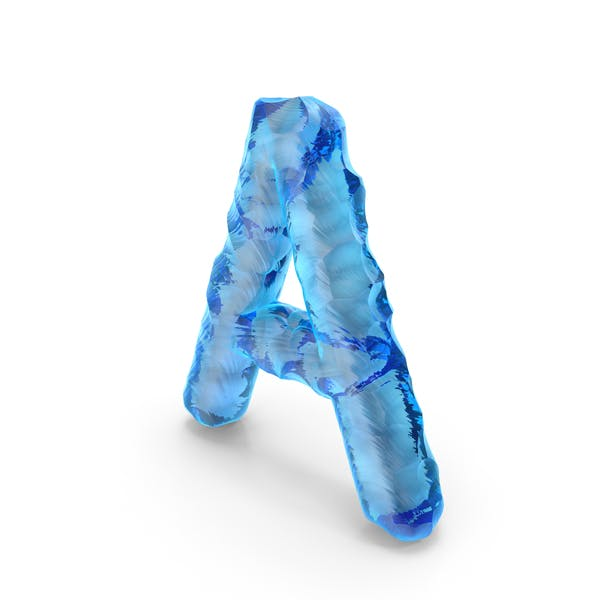Thumbnail for Ice Alphabet Letter A
