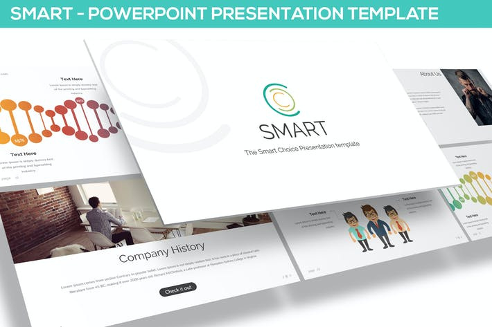 Thumbnail for Smart - Powerpoint Template