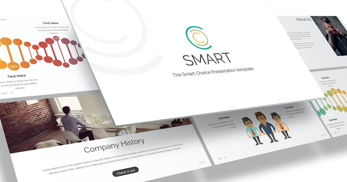 Download Smart - Powerpoint Template by inspirasign