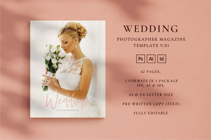 Thumbnail for WEDDING PHOTOGRAPHER - Magazine V.01